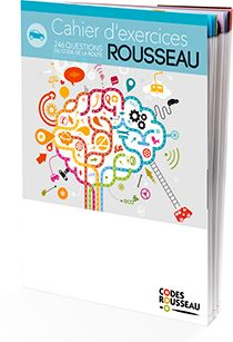 cahier exercices code rousseau