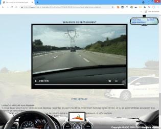 leçons de conduite en ligne